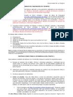 Instrucciones Para El Trabajo Final de Ingeniería de Tiempos