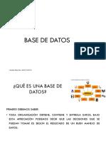 1. BASE DE DATOS