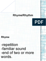 Rhyme Rhythm