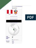 Peru y Sus Regiones