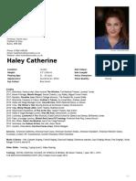 HC CV
