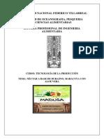 elaboracion de jugo de aloe vea con maracuya