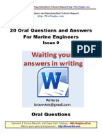 Part9 Q a Marine Engineer