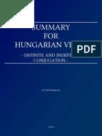 Hungarian Verbs