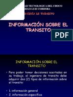 CLASE 3 Informacion Sobre El Transito