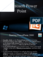 Microsoft Power Point tutorial
