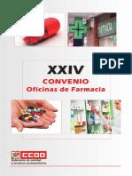 XXIV Convenio Colectivo Marco Para Oficinas de Farmacia