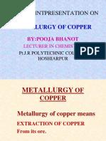 Metallurgy of Copper