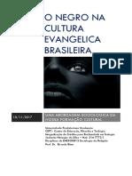 o Negro Na Cultura Evangelica Brasileira