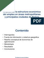 Estructura economica ciudades