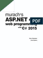 Murach's ASP.net 4.6 Web Programming With C# 2015 (2016)