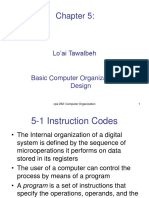 Chapter 5 Basic Computer Organization and Design