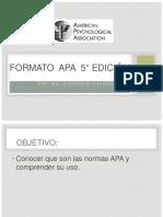 14. norma APA 5° edicion