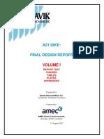 A21 Dike Design Report _ Aug 07 _ v1