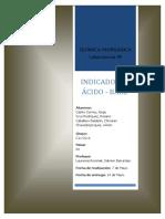 Informe 9 de Laboratorio de Química Inorgánica