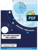 Taller Ecuac Recta