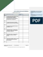 Lista Verificacion Para La Auditoria Interna