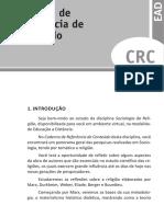 Sociologia Da Religião - Caderno - u1