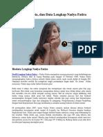 Profil, Biodata, Dan Data Lengkap Nadya Fatira