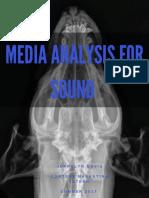 Media Analysis for Sound