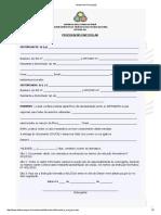 Modelo de Procuração- DeTRAN