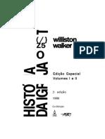 História Da Igreja Cristã, Williston Walker