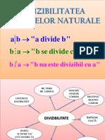 Prezentare Divizibilitate-A v A