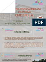 FABRICA DE LADRILLOS Y MATERIALES CHILTEPE NICARAGUA