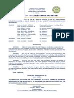 Municipal Ordinance No. 05, s. 2015 - Child-friendly