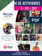 Programa Completo de La Noche Blanca Diciembre de 2017