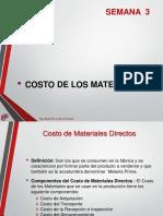 U2 S03 - CP - Costo de Materiales