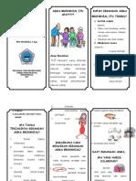 Leaflet Asma Bronkhial. DEA