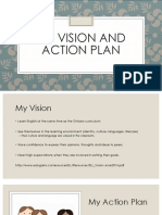 my vision and action plan
