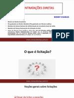 Apresentação - Palestra - CONTRATAÇÕES DIRETAS - 04hs - COngresso Da ELO - NOV2017 - Template VINHO