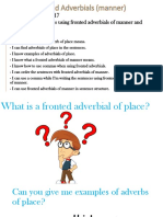 fronted adverbials  manner