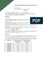 Corrigés exercices arithmétique