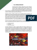 El Indigenismo
