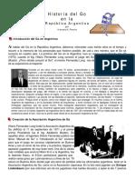 Historia Del Go en Argentina