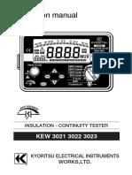 Kyoristu Insulation Tester