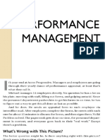 Performance Management..