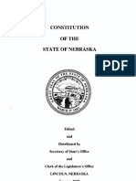 Constitution of the State of Nebraska