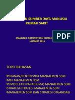 MSDM 1 (Manajemen SDM Unt Mutu)