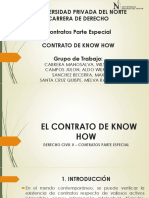 El Contrato de Know How