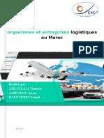 Rapport SCM6 Entreprise Organisme Logistique