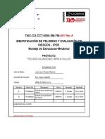 Matriz IPERC Proyectos Impala.-montaje de Estructuras