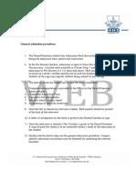 ASA Admission Form