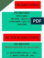 (8A) EL JUICIO EJECUTIVO. CUADERNO DE APREMIO.  INCIDENTES.ppt