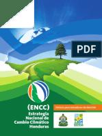 Estrategia Nacional de Cambio Climatico Encc Honduras