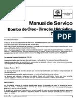 Bomba de Oleo Direçao Hidraulica 7672-7673
