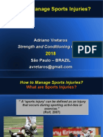 How to Manage Sports Injuries?
